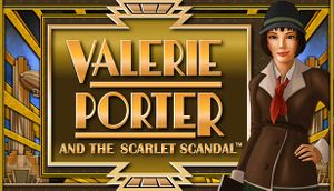 Valerie Porter and the Scarlet Scandal cover