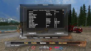 Controls remap settings.