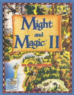 Might and Magic II: Gates to Another World cover