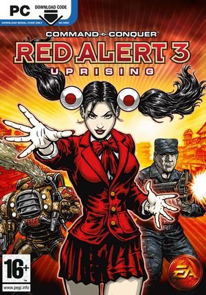 Command & Conquer: Red Alert 3 - Uprising cover
