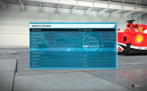 In-game video settings (1/2).