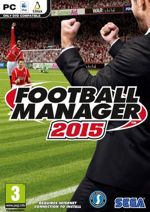 Football Manager 2015 cover