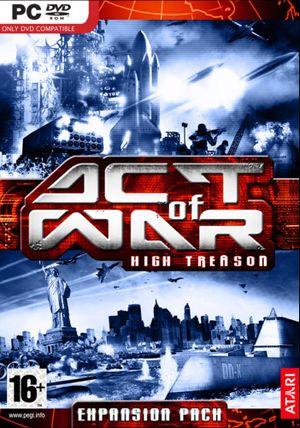 Act of War: High Treason cover
