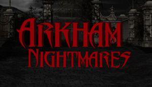 Arkham Nightmares cover