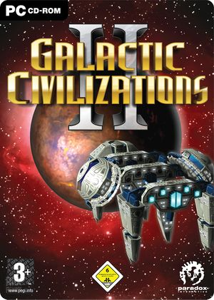 Galactic Civilizations II: Dread Lords cover