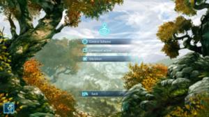 In-game control settings