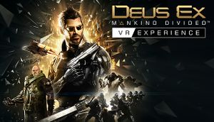 Deus Ex: Mankind Divided - VR Experience cover