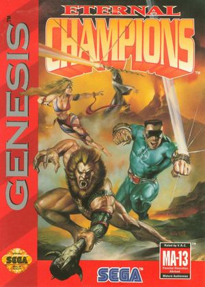 Eternal Champions cover