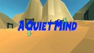 A Quiet Mind cover