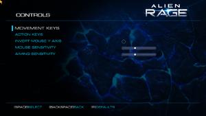 Input settings (multiplayer).