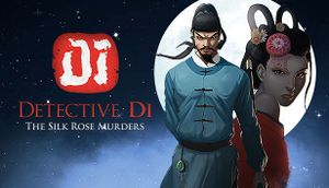 Detective Di: The Silk Rose Murders cover