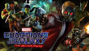 Marvel's Guardians of the Galaxy: The Telltale Series cover