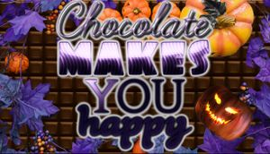 Chocolate Makes You Happy: Halloween cover
