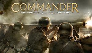 Commander: The Great War cover