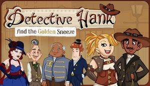 Detective Hank and the Golden Sneeze cover