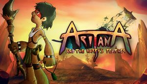 Aritana and the Harpy's Feather cover