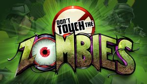 Don't Touch the Zombies cover