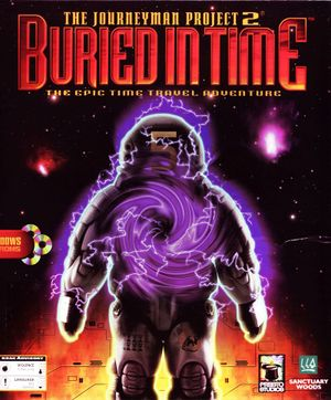 The Journeyman Project 2: Buried in Time cover