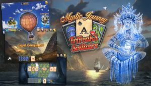Mystic Journey: Tri Peaks Solitaire cover