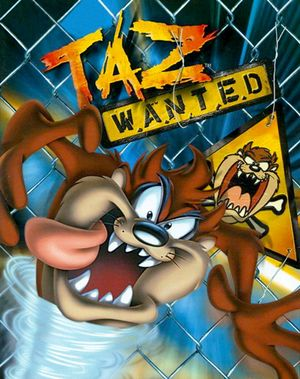 Taz: Wanted cover