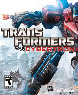 Transformers: War for Cybertron cover
