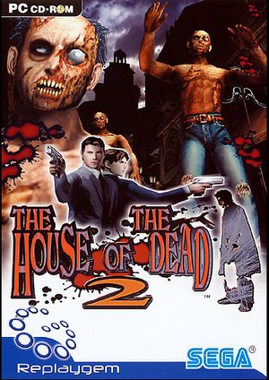 The House of the Dead 2 cover
