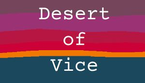 Desert of Vice cover