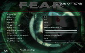 F E A R  - PCGamingWiki PCGW - bugs, fixes, crashes, mods, guides