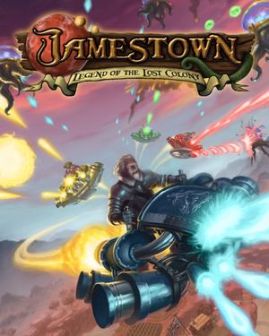 Jamestown: Legend of the Lost Colony cover