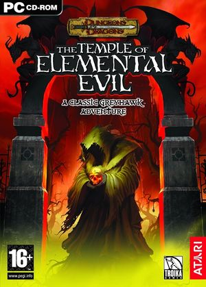 The Temple of Elemental Evil cover