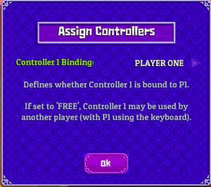 Controller number change.