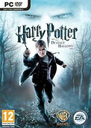 Harry Potter and the Deathly Hallows Part 1 cover