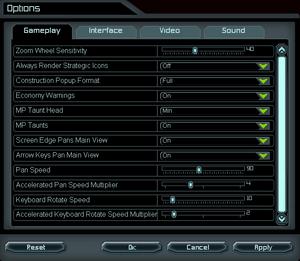 Supreme Commander - PCGamingWiki PCGW - bugs, fixes, crashes