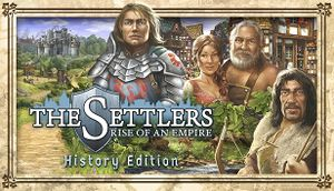 The Settlers: Rise of an Empire - History Edition cover