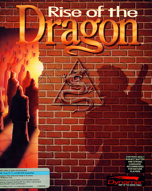 Rise of the Dragon cover