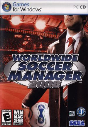 Football Manager 2008 cover
