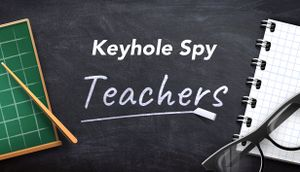 Keyhole Spy: Teachers cover