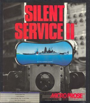 Silent Service II cover