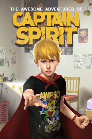 The Awesome Adventures of Captain Spirit cover