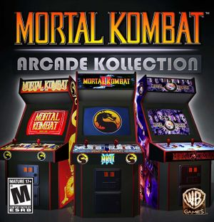 Mortal Kombat Arcade Kollection cover