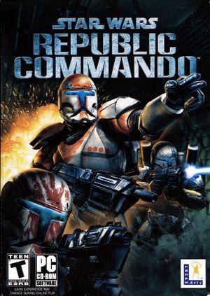 Star Wars: Republic Commando cover