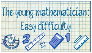 The young mathematician: Easy difficulty cover