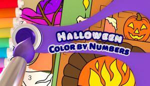 Color by Numbers - Halloween cover
