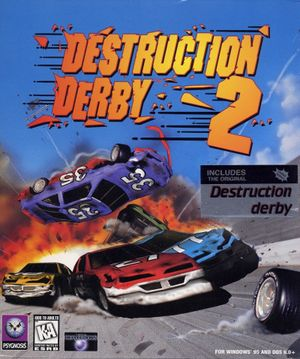 Destruction Derby 2 cover