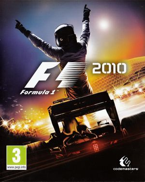 F1 2010 cover