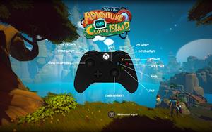In-game controller layout menu