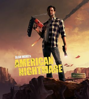 Alan Wake's American Nightmare cover