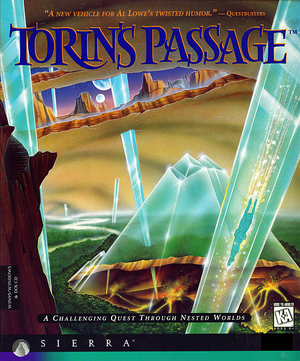 Torin's Passage cover