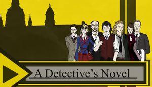 A Detective's Novel cover