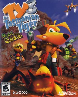 TY the Tasmanian Tiger 3 cover